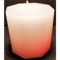 Picture of Colour changing octagon candle - 7cm (L) x 7cm (W) x 7cm (H)