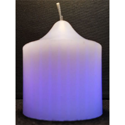 Picture of Colour changing pillar candle