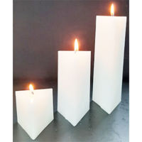 Picture of Prism candle - 7,5cm (L) x 7,5cm (W)