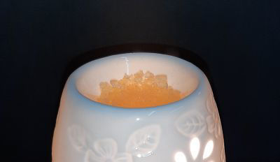 Picture of Oil burner - Electric - Flowers