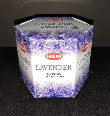Picture of HEM backflow incense - Lavender