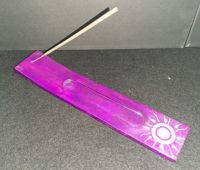 Picture of Incense burner - Flat soapstone sun design