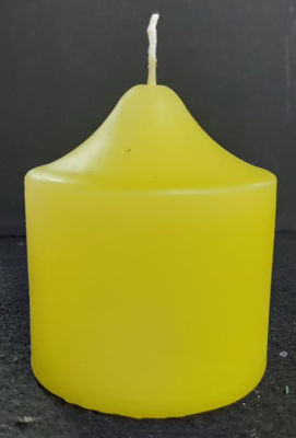 Picture of Twisted candle - 7,5cm (D) x 14,5cm (H)