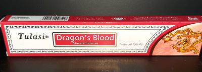 Picture of Tulasi - Dragon's blood masala incense