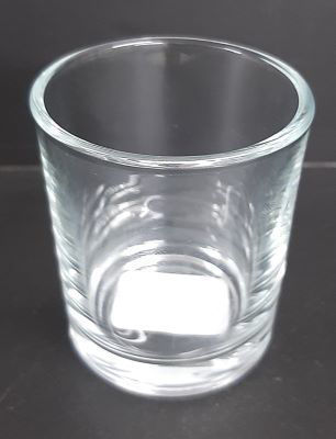 Picture of Candle holder - Glass - 6cm (D) x 6.5cm (H)