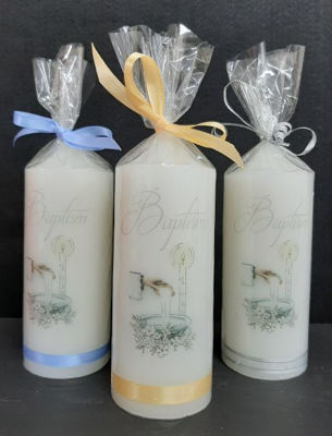 Picture of Baptism candle